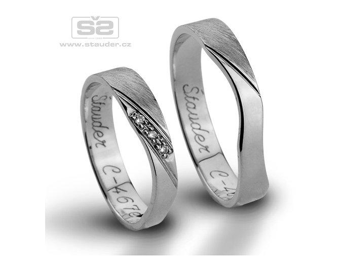 Snubní prsteny C467e