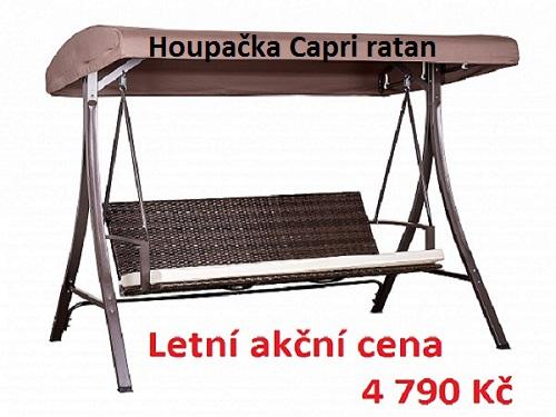 Houpačka Capri ratan