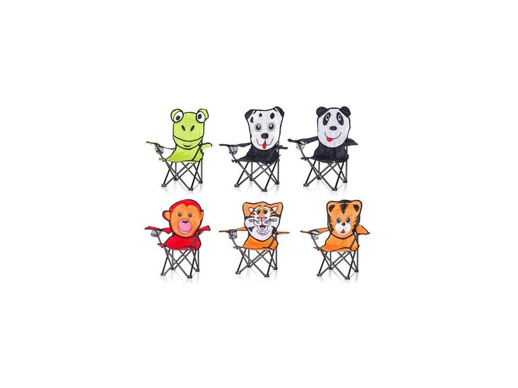 HAPPY GREEN Křeslo dětské, zvířátka