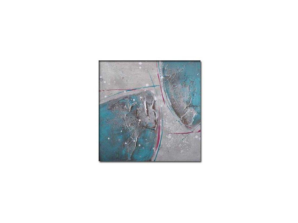 Obraz Stardeco Turquois B 30x30
