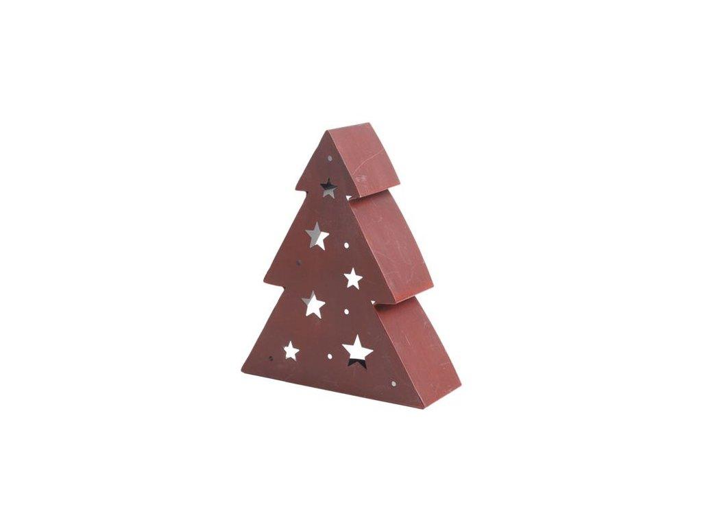 Vánoční lucerna Autronic KLA216 - stromek