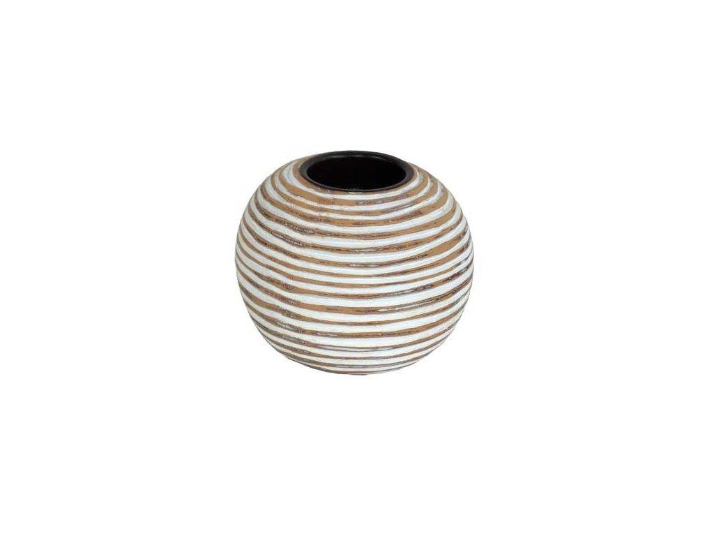 Polyresinový svícen Stardeco 8,5 cm