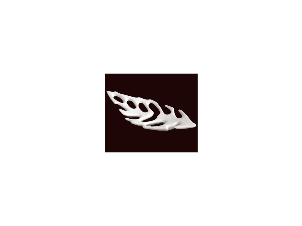 Keramická mísa White Leaf - 62cm