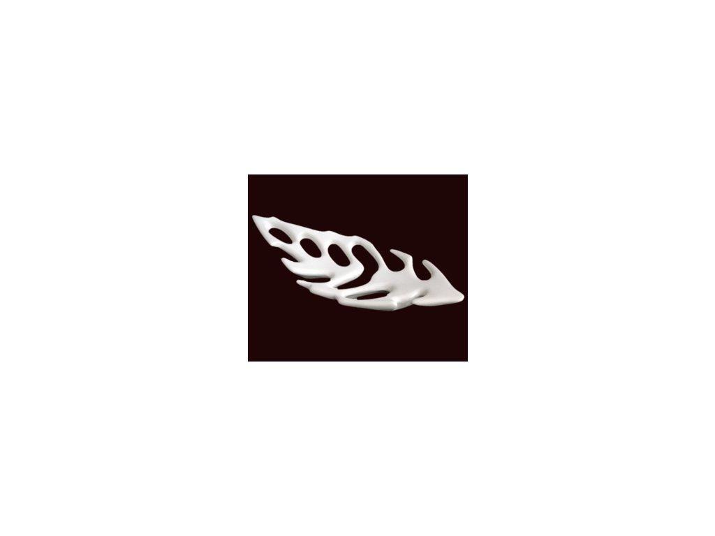 Keramická mísa White Leaf - 46cm