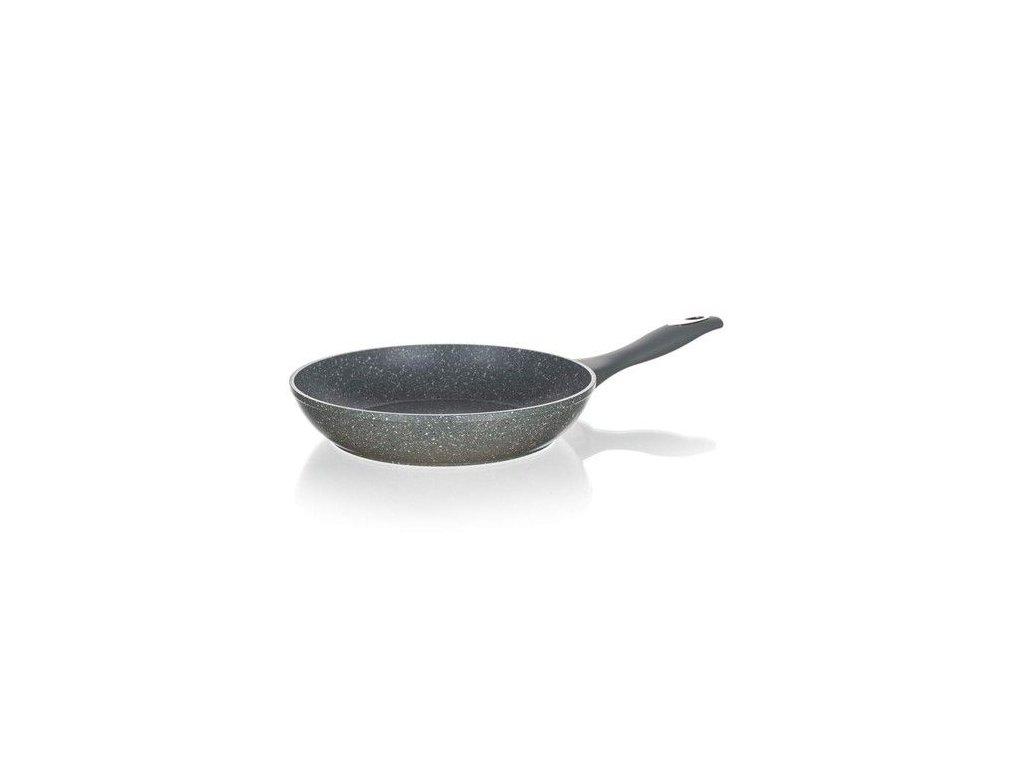 Hliníková pánev Banquet Granite 24 cm Grey