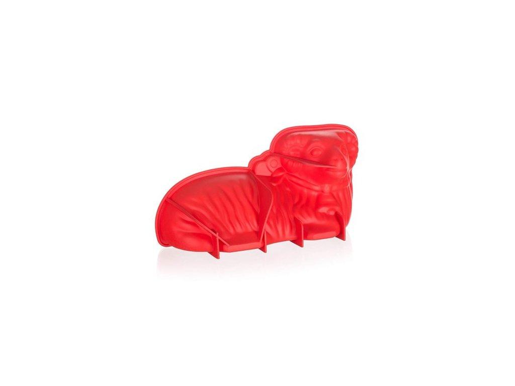 BANQUET Forma beránek silikonová CULINARIA Red 31 x 16 x 9 cm