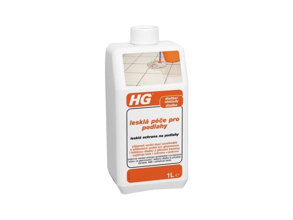 HG lesklá péče o podlahy 1 l