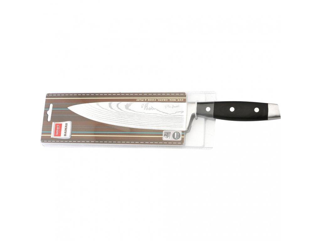 Nůž kuchařský 20 cm DAMAS LAMART - LT2045