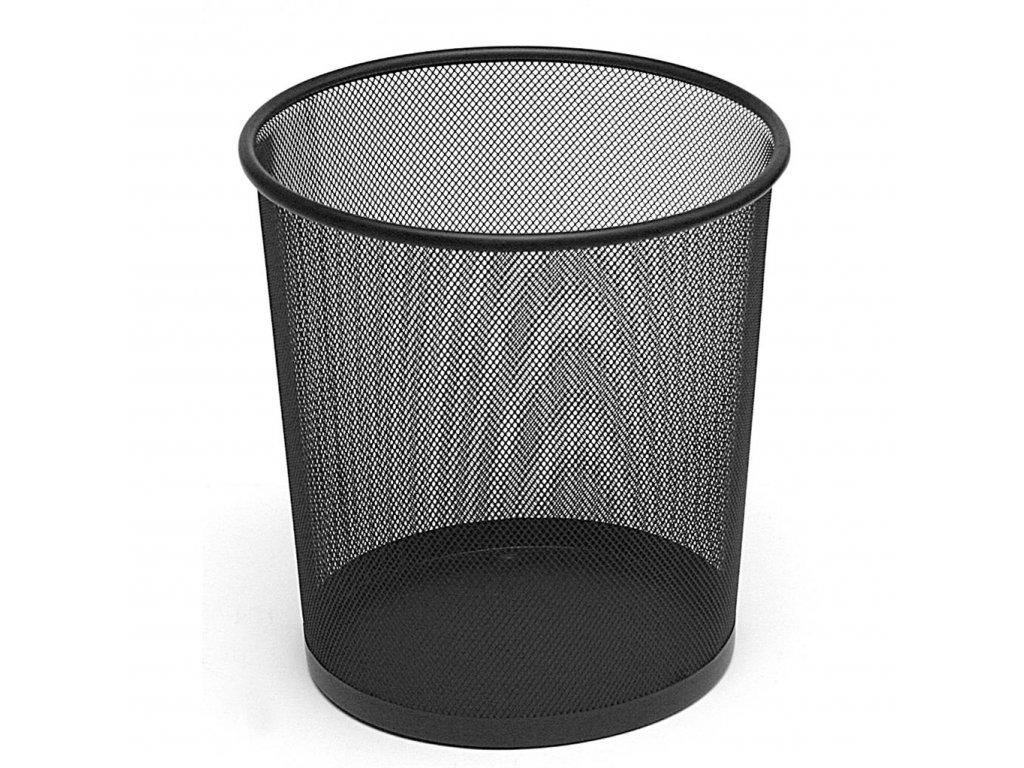 Koš odpadkový kov průměr 26 cm