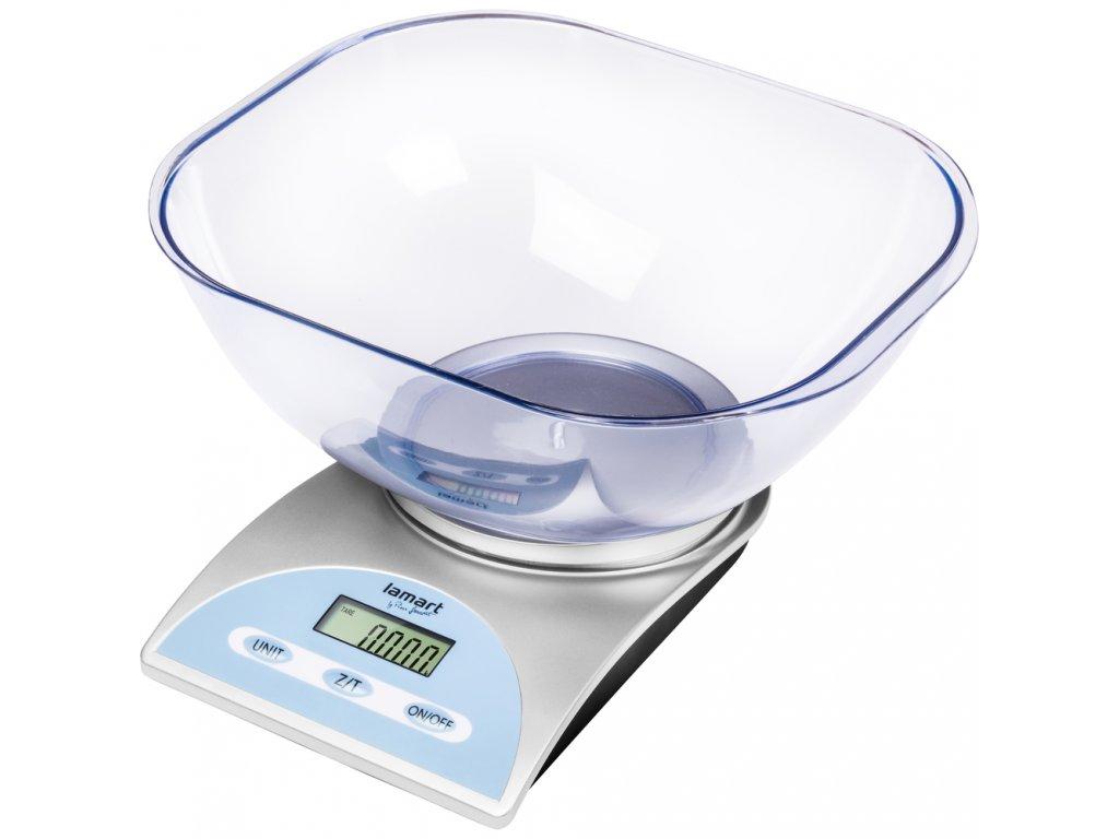 Kuchyňská váha s miskou BOWL Lamart - LT7033