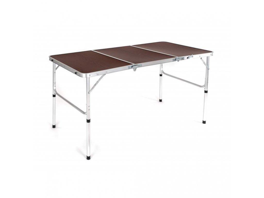 HAPPY GREEN Stůl kempingový skládací MOBBY 135 x 65 x 70/40 cm