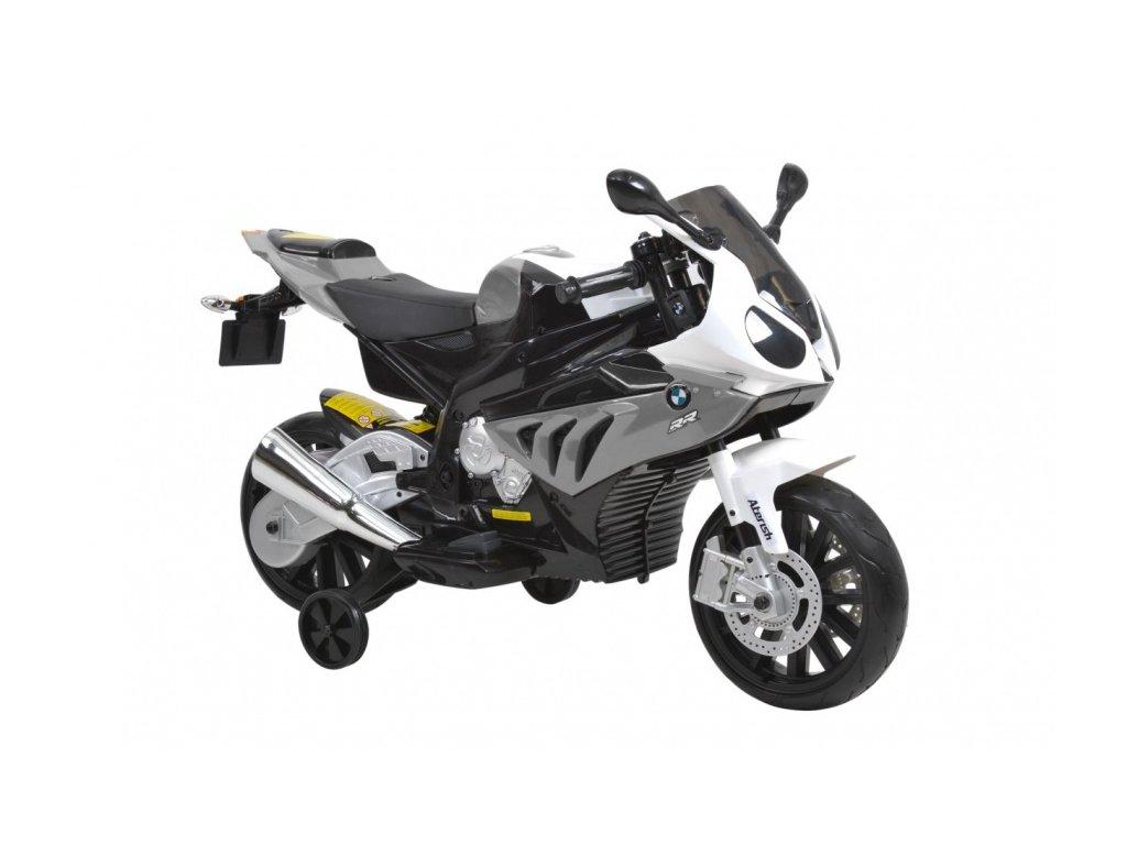 Dětská elektrická motorka BMW S1000RR-grey
