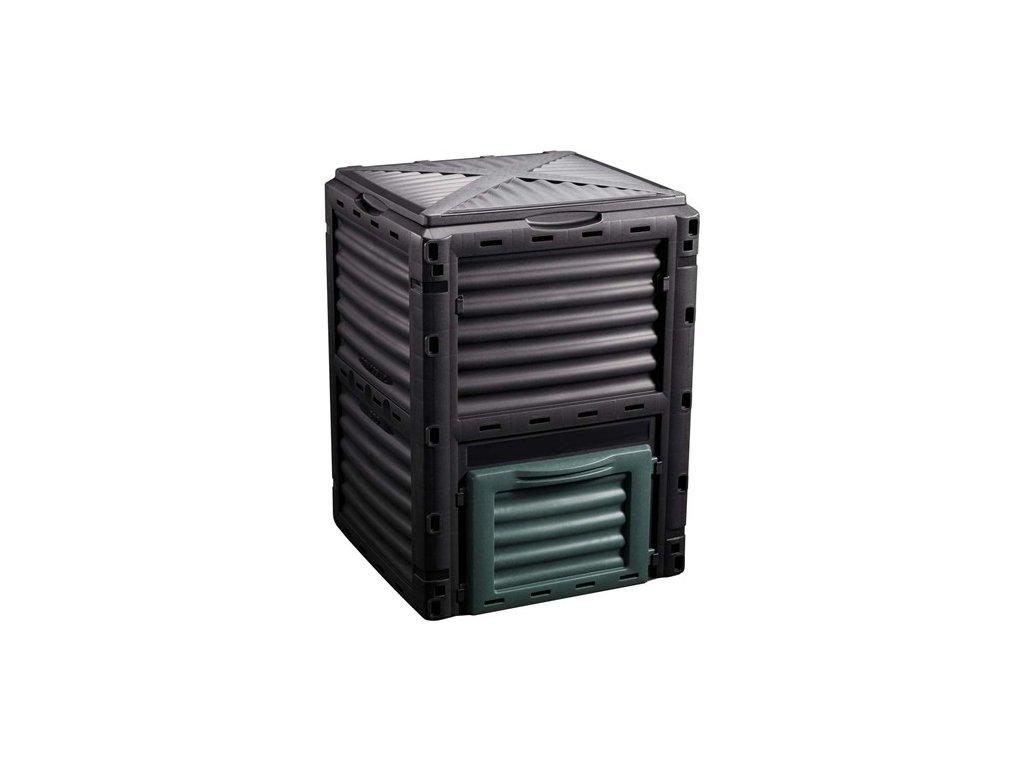 Kompostér JELENIA PLAST 300 l, 61 x 61 x 83 cm