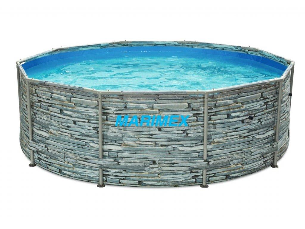 Bazén Florida 3,05x0,91 m bez filtrace - motiv KÁMEN