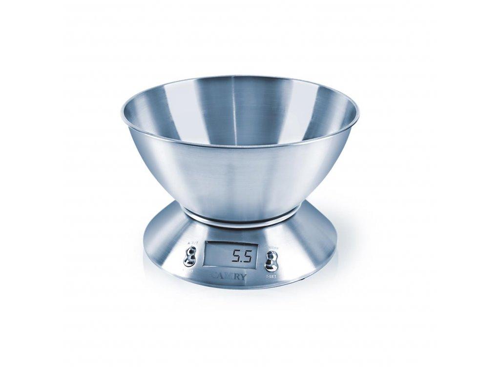 Kuchyňská váha digitální nerez 5 kg