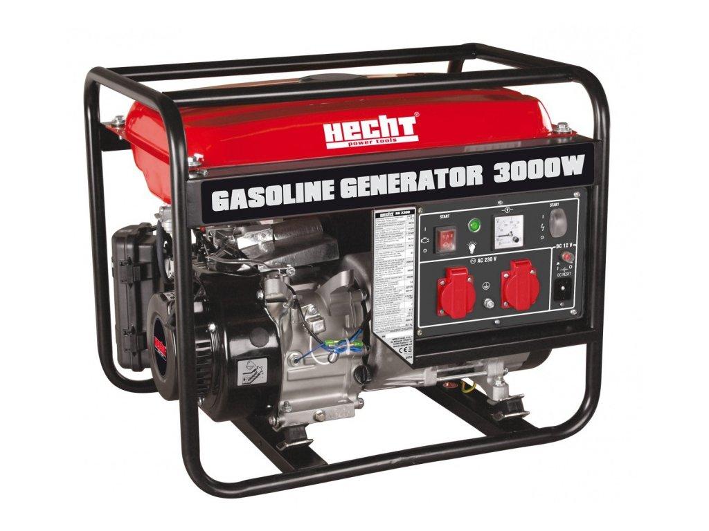Benzínový generátor proudu HECHT GG 3300