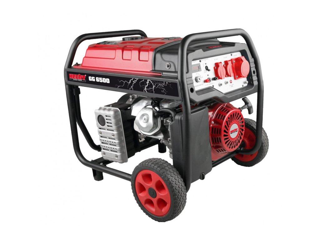 Benzínový generátor elektřiny HECHT GG 6500
