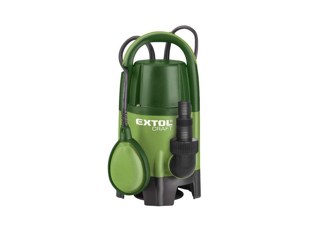 Ponorné čerpadlo Extol Craft 400 W - 414121