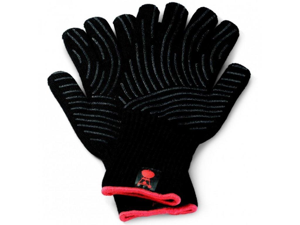 Sada grilovacích rukavic Premium - velikost L/XL, černé, žáruvzdorné