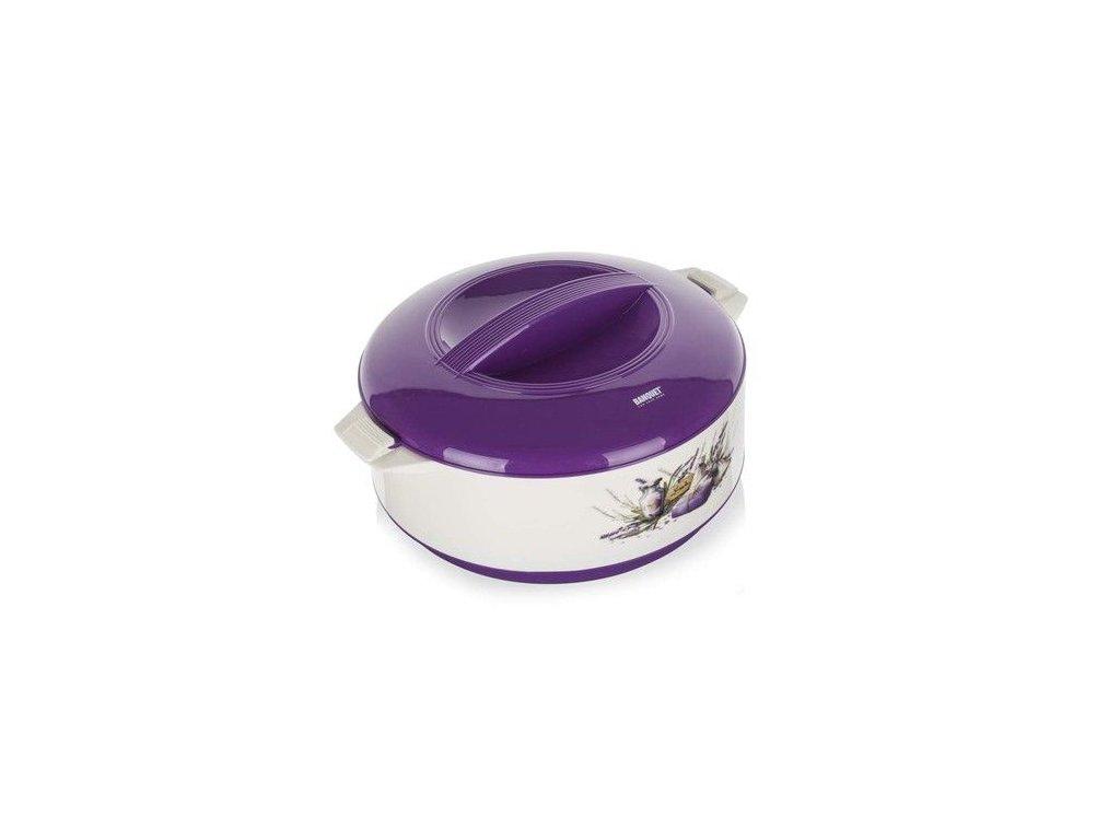Termohrnec Banquet Culinaria 2,5 l s poklicí Lavender
