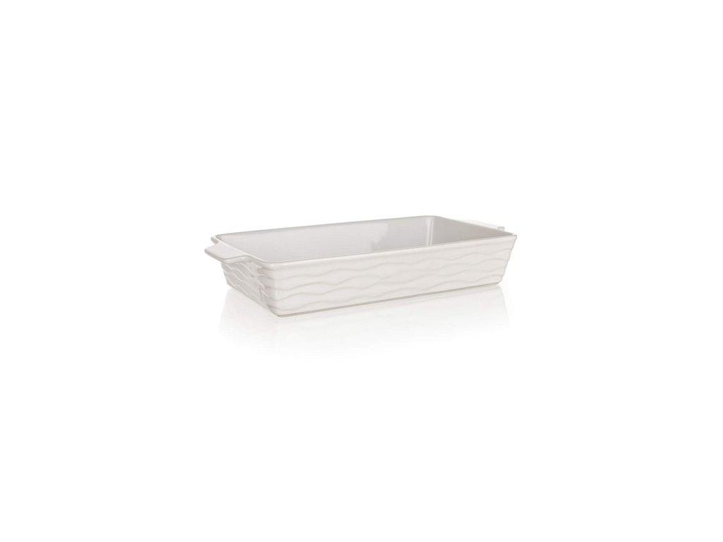 BANQUET Forma zapékací obdélníková CULINARIA White 42 x 21 cm