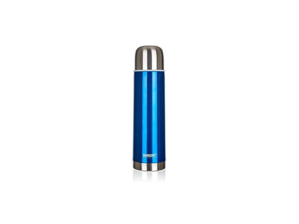 Termoska nerezová AVANZA Blue 0,75 l