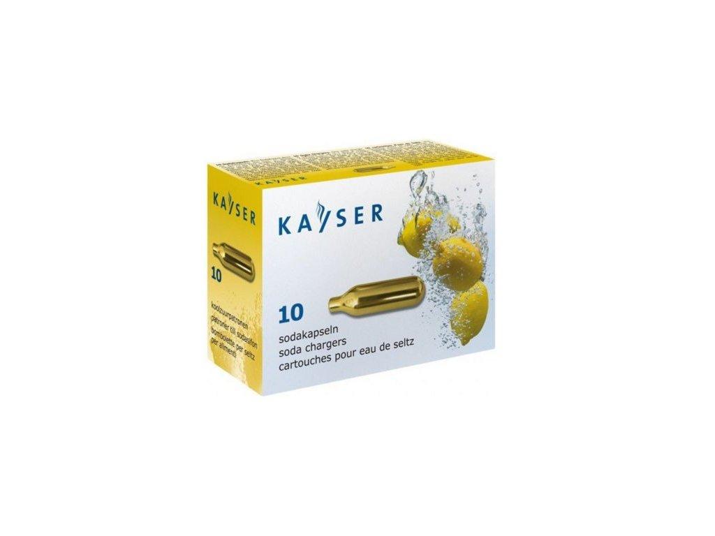 Sifonové bombičky Kayser 10 ks