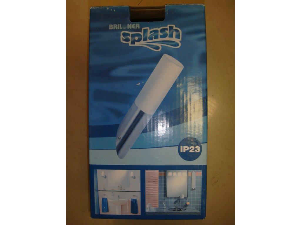 Briloner Koupelnové stěnové světlo, matný nikl, 1xE14/40W 2140/012