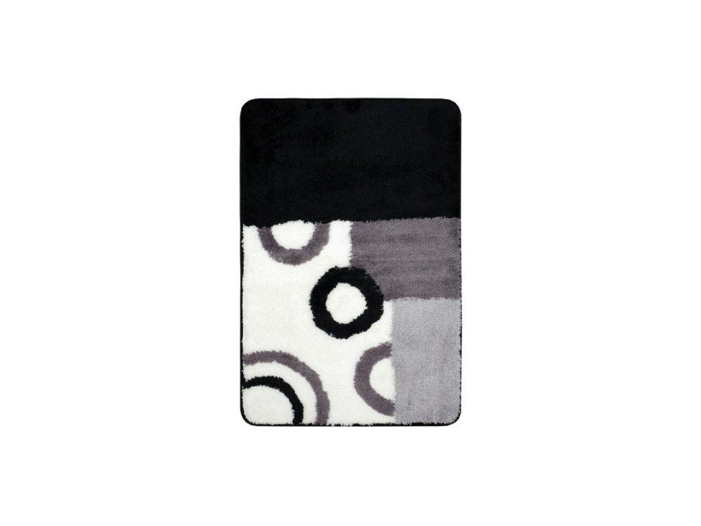 Koupelnová předložka Optima 90x60 cm černobílá
