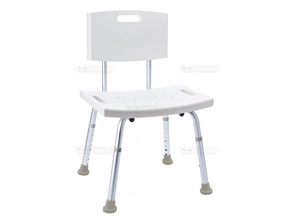 Židle s opěradlem a nastavitelnou výškou