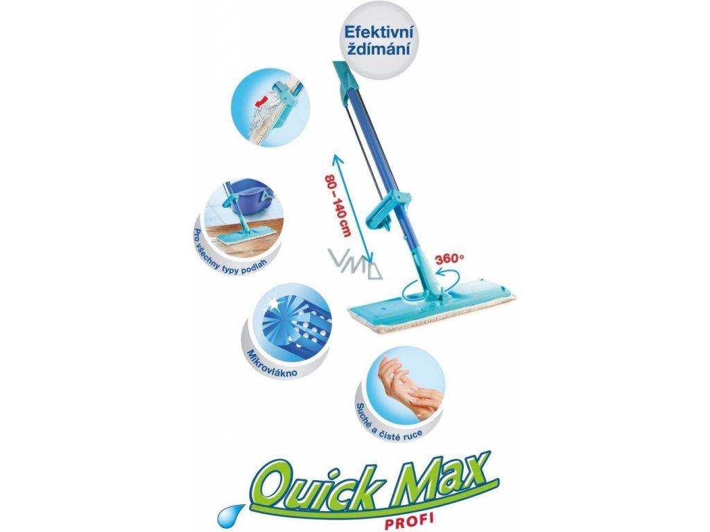 Spontex Mop Quickmax Profi se samoždímacím systémem