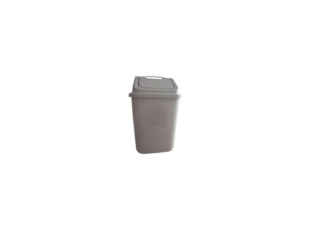 Plastový odpadkový koš Orion Dust A 18 l
