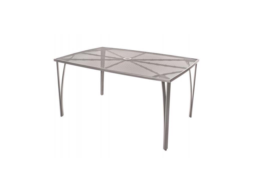 Ocelový stůl Happy Green 150x90 cm
