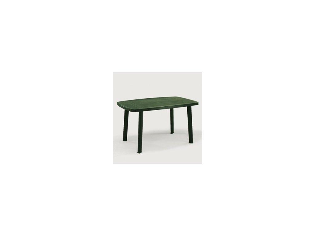 bcf6c041a996 Zahradní plastový stůl FARO zelený - Stavebniny Stupka