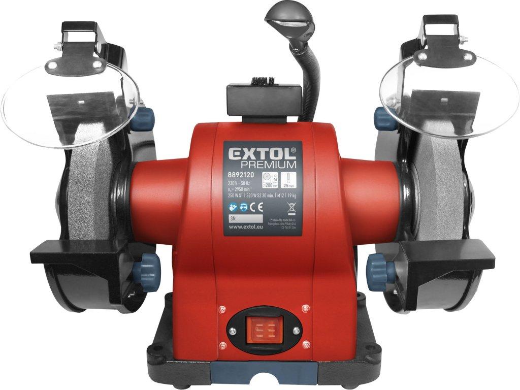 Stolní bruska Extol Premium BG 52L - 8892120