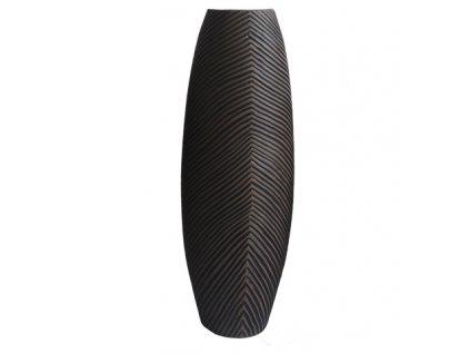 Polyresinová váza tmavá 46,5 cm