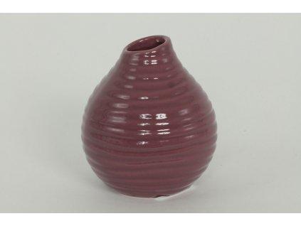 Váza keramická  purple 11,5 cm