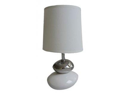 Stolní lampa Stardeco Small Stone - bílá