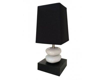 Stolní lampa Stardeco Double Stone Black