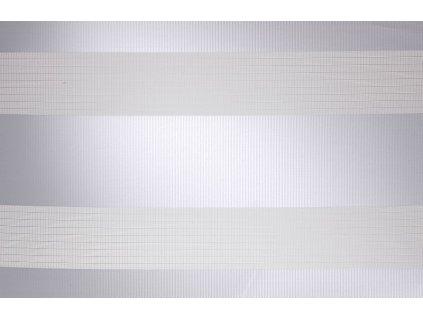 Látková mini roleta Den a Noc 42,5x150 cm světlešedá