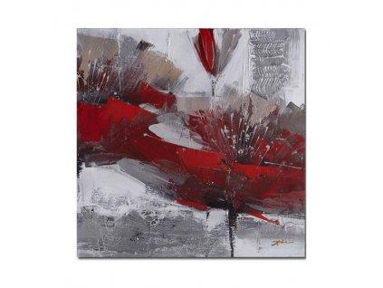 Obraz Stardeco Red Flower 60x60