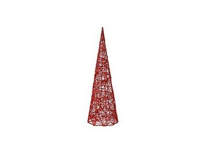 Vánoční kužel Autronic červený