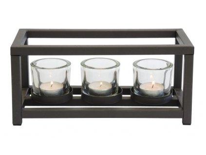 Designový svícen Stardeco CH2A207 - 3 svíčky