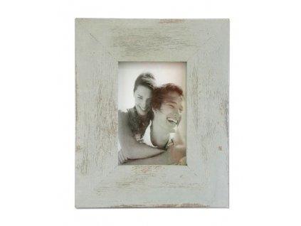 Dřevěný fotorámeček Stardeco Y-TJ193G šedý