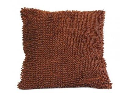 Dekorativní polštář Stardeco Cushion 86 hnědý