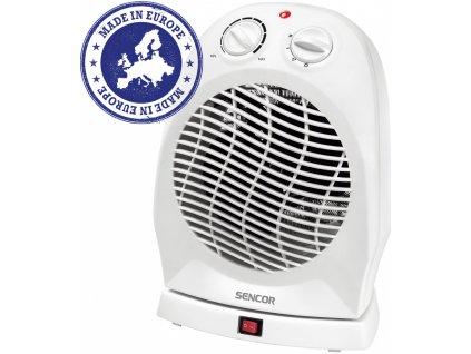 Teplovzdušný ventilátor Sencor SFH 7051 WH