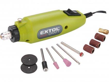 Mini vrtačka/bruska Extol Craft 12W s transformátorem - 404120