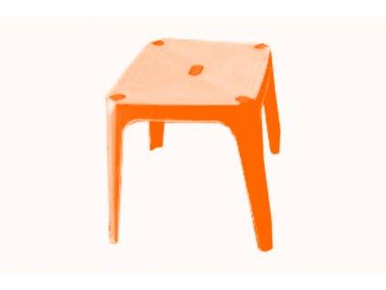 Stolek UH DADY dětský oranžový
