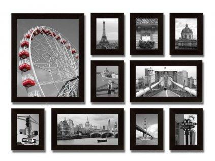 Sada 10 obrazů Stardeco City 131x95