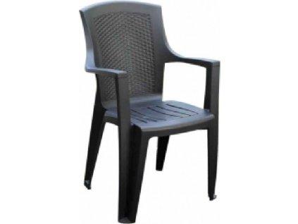 Židle EDEN antracit